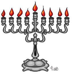 menorah @ www.chabad.org
