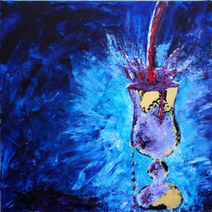 """My Cup Runneth Over""Artist: Yitzchok Moully"