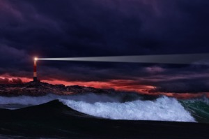 lighthouse in the storm#2