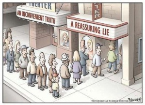 inconvenient truth-reassuring lie