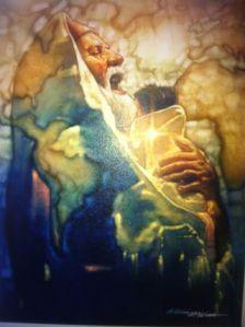 """Simeon's Moment"" by Ron DiCianni"