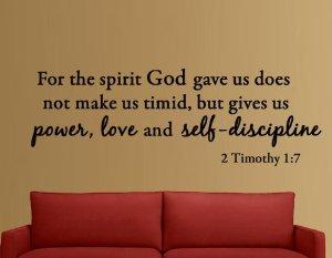 2 Timothy 1v7