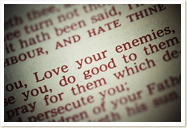Love everyone including enemies