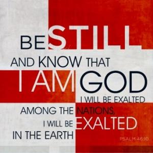 Psalm 46v10