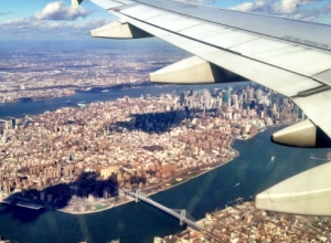 Plane View New York City