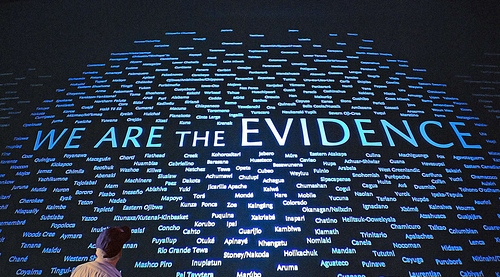 We are the evidence