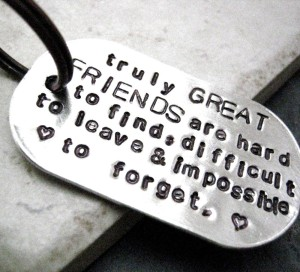 truly great friendships