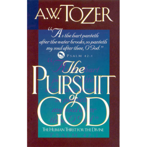 The Pursuit of God book cover