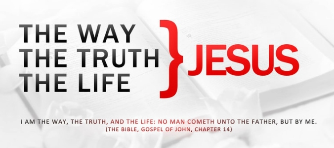 the way the truth the life jesus