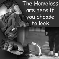 the homeless are here