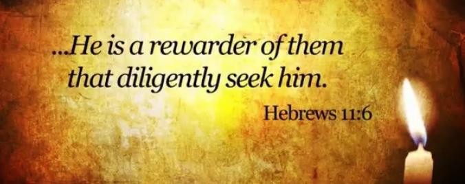 Hebrews 11v6