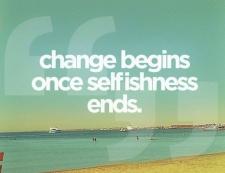 where change begins